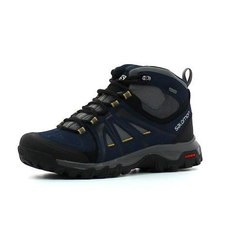 Salomon Evasion Mid GTX Bleu 44 Chaussures Adulte Homme