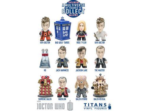Titan Merchandise - Doctor Who présentoir trading figures 10th Doctor Gallifrey Collection Titans 8 cm (20)