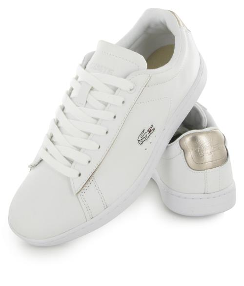ecf7c5ba4c 316 BlancBaskets Lacoste Carnaby Evo Femme Et Chaussures Mode 54RL3jA
