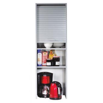 meuble de cuisine aluminium largeur 40 cm hauteur 1236 cm achat prix fnac