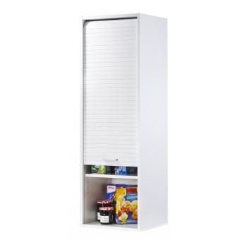 Meuble de cuisine blanc largeur 40 cm hauteur 123 6 cm - Meuble cuisine largeur 45 cm ...