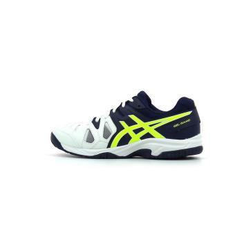 5 Tennis De Pointure Chaussures Blanc 32 Game Gs Asics Gel Enfant qnPnR4Swz