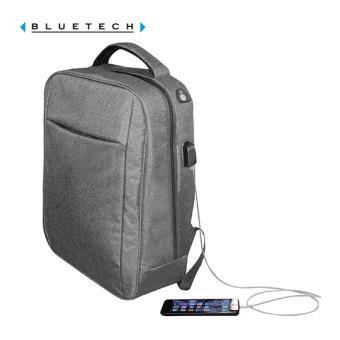 5676873f45 Sac à dos ordinateur connecté gris Bluetech - Maroquinerie Business - Achat  & prix   fnac