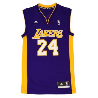 Adidas NBA Los Angeles Lakers #24 Kobe Bryant Multicolore S
