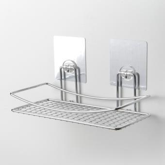 Etagère De Salle De Bain En Acier Chromé Fixation Transparente SMOOTH   Accessoires  Salles De Bain Et WC   Achat U0026 Prix | Fnac