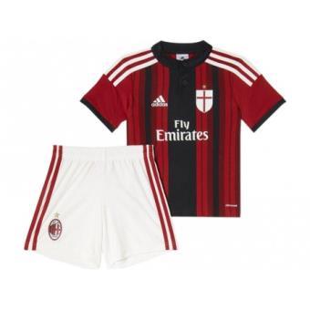 newest 4b3e9 ee9ce ACM H BABY RED - Minikit AC Milan Football Bébé Garçon Adidas - Maillots de  sport - Achat   prix   fnac