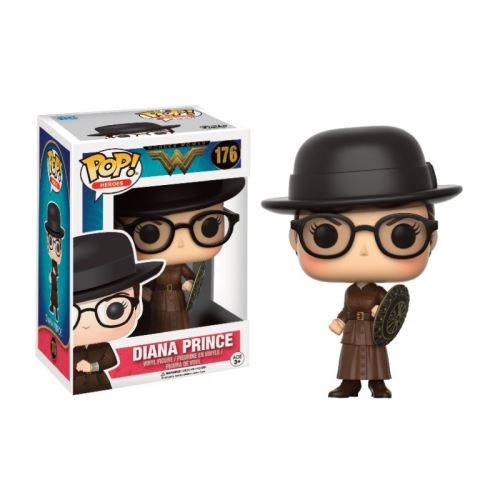 Dc Comics Wonder Woman Diana Prince with Shield Exclusive Pop 10cm