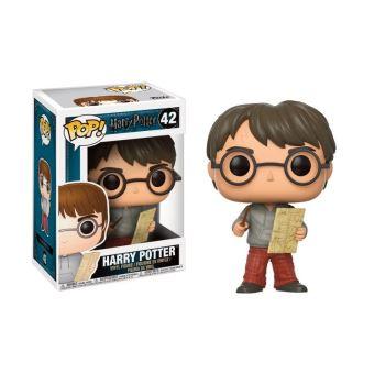 Figurine Funko Pop Harry Potter Harry avec carte du Maraudeur