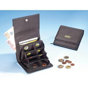 sélectionner pour authentique prix de détail bas prix Kinsell® Portefeuilles - Trieur - Porte monnaies - monnayeur - EURO - à  compartiments - Noir