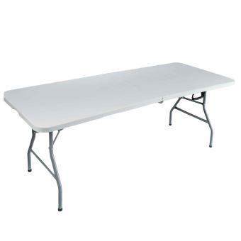 Table Pliante Rectangulaire 180X76X75Cm - Mobilier de Jardin - Achat ...