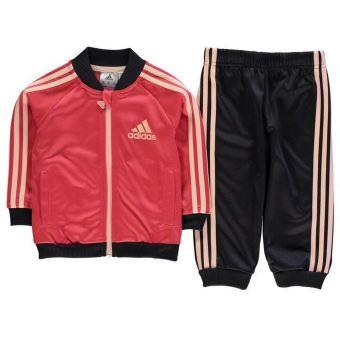 387479b233cd8 Jogging Adidas Jeunes Enfant Rose Gris et Corail - Survêtements et  ensembles de sport - Achat   prix