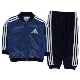 latest fashion ever popular beauty Jogging Adidas Bébé Bleu Marine et Blanc - Survêtements et ...