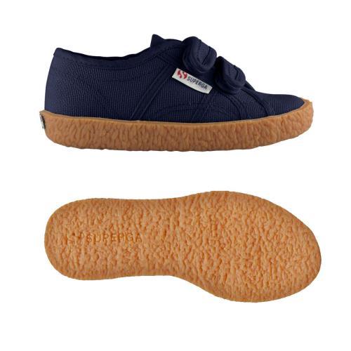 Superga <strong>chaussures</strong> 2750 naked covj pour bébé garçon et bébé fille style classique couleur unie