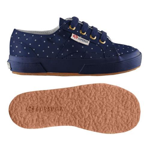 Superga <strong>chaussures</strong> 2750 dotssatinj pour enfant style classique imprimé à pois