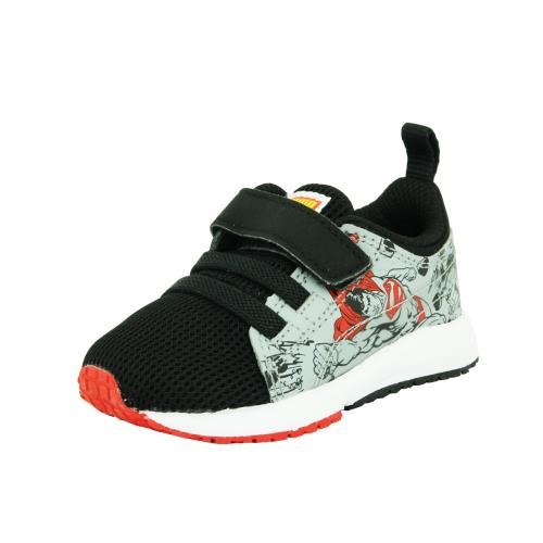 Puma kds carson superman <strong>chaussures</strong> mode sneakers bebe noir gris rouge