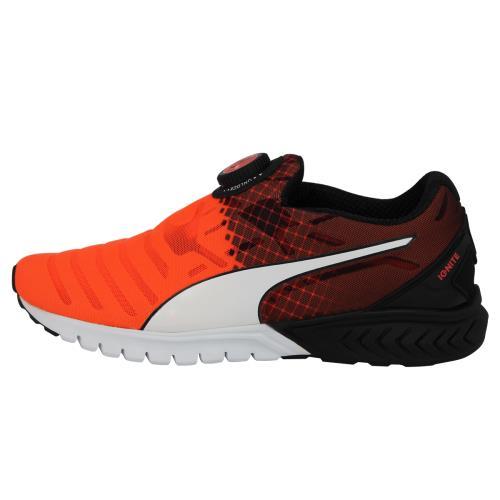 Puma IGNITE DUAL DISC Chaussures Mode Running Homme Orange
