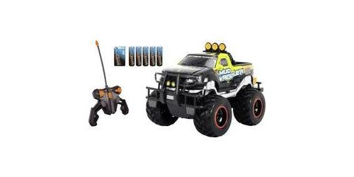 Monstertruck électrique Dickie Toys Ford F150 Mud Wrestler brushed 27 MHz propulsion arrière 100% RtR 1:16