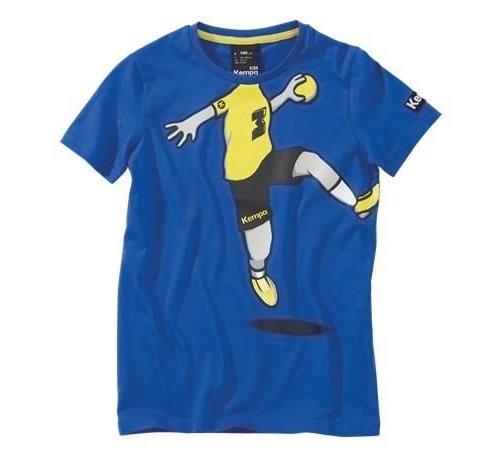 Kempa cartoon player bleu taille 45 ans t shirt enfant garçon