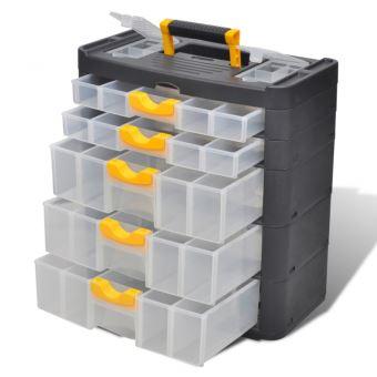Boite Casier Commode De Rangement Plastique 5 Tiroirs Outils Garage Atelier Bricolage Helloshop26 3402047 Rangement De L Atelier Achat Prix Fnac