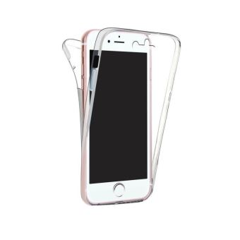 coque silicone gel transparent souple int grale avant arri re 360 pour iphone 8 plus achat. Black Bedroom Furniture Sets. Home Design Ideas
