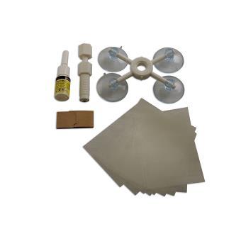 Réparation de voiture pare-brise Kit Outils Auto Verre Pare-brise set bricolage porte donner craquelé