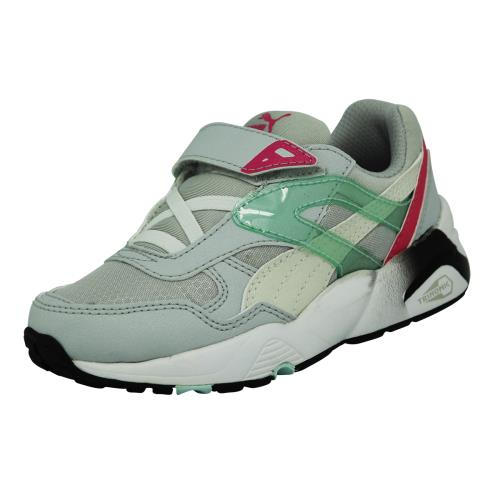 Puma kids r698 mesh neo <strong>chaussures</strong> mode sneakers enfant blanc