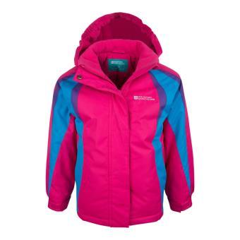 prix modéré nouveau design Vente de liquidation 2019 Mountain Warehouse Veste de ski enfant fille Garçon Blouson Chaud Hiver  Honey
