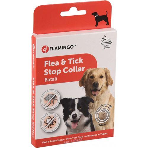 Antiparasitaire collier pour chien 74 cm. BATALI puces et tiques. - Flamingo Pet Products - FL-519840