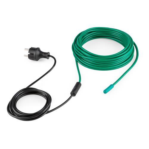 Waldbeck Greenwire Câble chauffant de 12m pour plantes Antigel Chauffage pour plantes 60W IP44