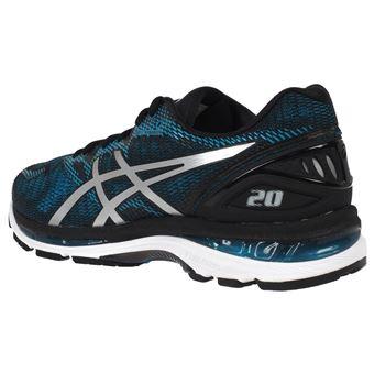 Chaussures running Asics Nimbus 20 gel blue run Bleu taille