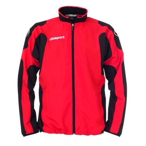 Uhlsport cup veste woven zip l rougenoir