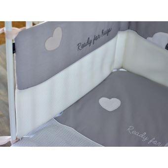 tour de lit pour lits 60x120 et 70x140 cm capuchon candide tour de lit achat prix fnac - Tour De Lit 70x140