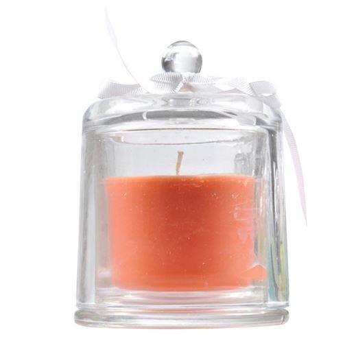 Paris Prix - Bougie Parfumée Cloche essentiel 12cm Mangue