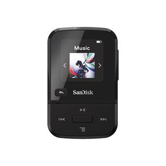 SanDisk Clip Sport Go - Lecteur numérique - 32 Go - noir