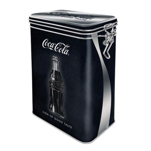 Boite rectangulaire Coca-Cola métallique