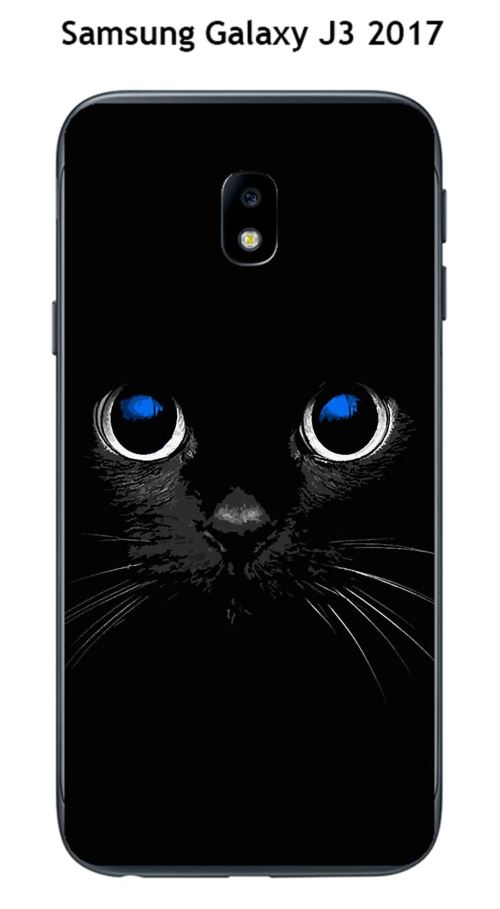 coque samsung j3 2017 chat noir