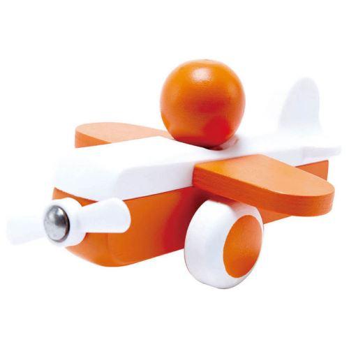 Jouet à pousser bébé SKY FLYER orange HAPE