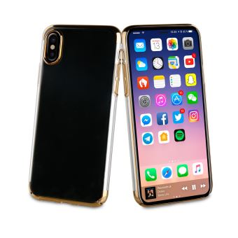 coque gold iphone x