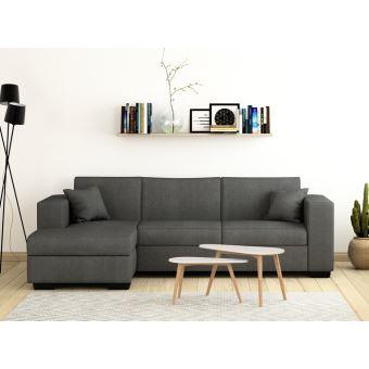 380 sur canap d 39 angle convertible avec coffre tissu. Black Bedroom Furniture Sets. Home Design Ideas