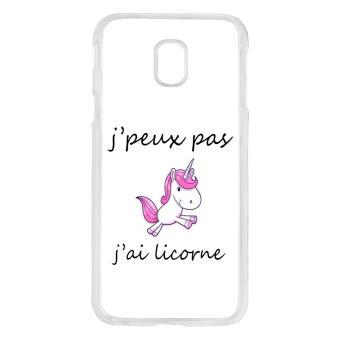 coque samsung j5 2017 licorne