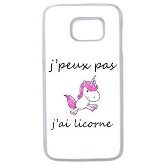 coque samsung galaxy s7 edge licorne