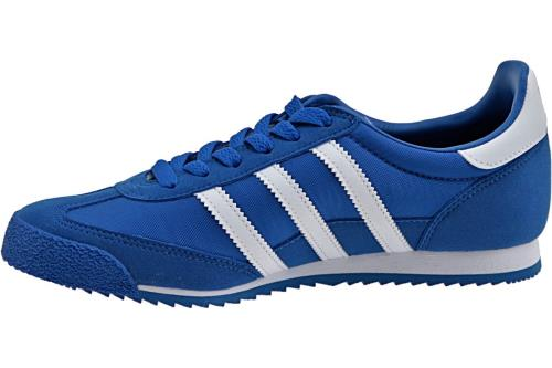 adidas dragon j bleu