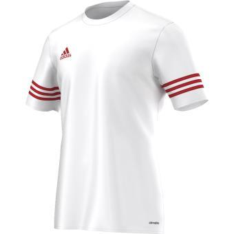 timeless design 921a0 7518c Adidas - Maillot adidas Entrada 14 - 8 ans - blanc coquelicot - Maillots de  sport - Achat   prix   fnac