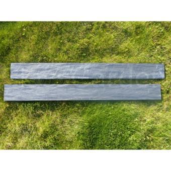 bordure piquet d 39 ardoise scie 1 m tre d coration d 39 ext rieur achat prix fnac. Black Bedroom Furniture Sets. Home Design Ideas