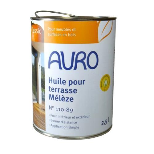 Auro - Huile pour Terrasse (Mélèze) 2,5l - N° 110-89