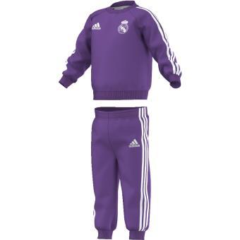 Adidas Real Madrid 20162017 3 stripes violet brut 12 mois