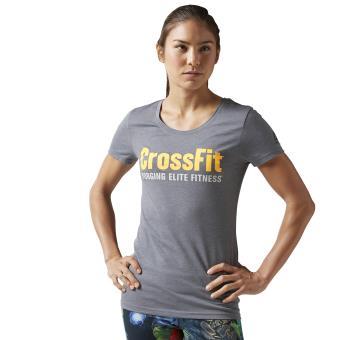 super popular 748df f8bcf Reebok T-shirt CrossFit Forging Elite Fitness gris Taille S Adulte Femme -  Hauts, T-shirts et débardeurs de sport - Achat   prix   fnac