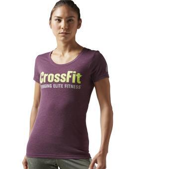cheap for discount 57f58 5b5a1 Reebok T-shirt CrossFit Forging Elite Fitness pourpre Taille S Adulte Femme  - Hauts, T-shirts et débardeurs de sport - Achat   prix   fnac