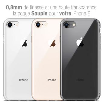 coque iphone 8 reflet