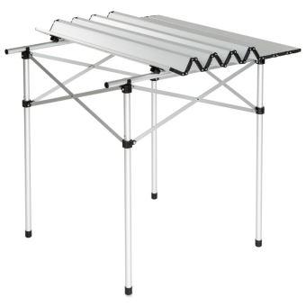 Table De Camping Jardin Pique Nique Aluminium Pliante 70x70